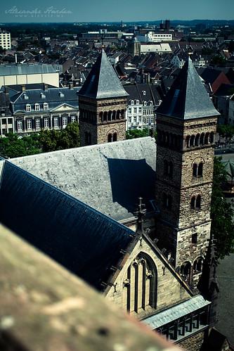 Kirche in Maastricht klein