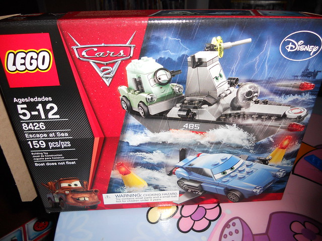 gisselle disney cars 2 lego builds (16)