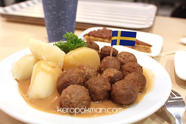 The 15 balls, Ikea Swedish Meat Balls