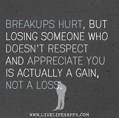 Breakups hurt, but losing someone who doesn't ...