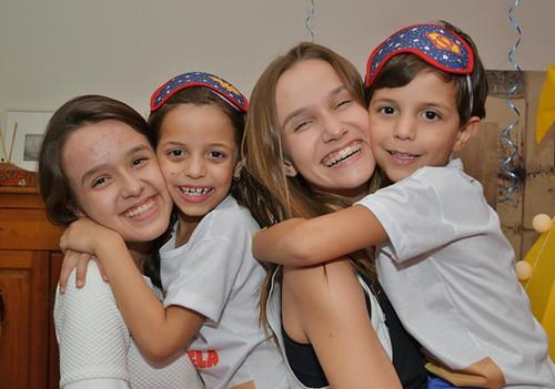 Ana Júlia, Marcela, Maria Eduarda e Túlio
