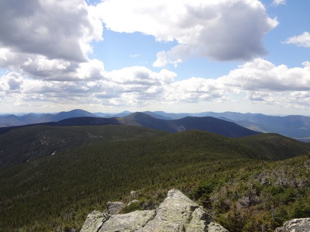 South Twin View of Mt. Guyot and the Bonds
