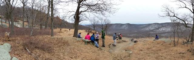 Lunch - Appalachian Trail - Bear Mtn