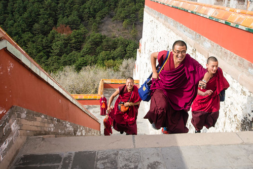 Visiteurs à Chengde