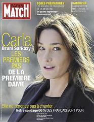 COUVERTURE DU PARIS MATCH N° 3065 DU 14 FEVRIE...
