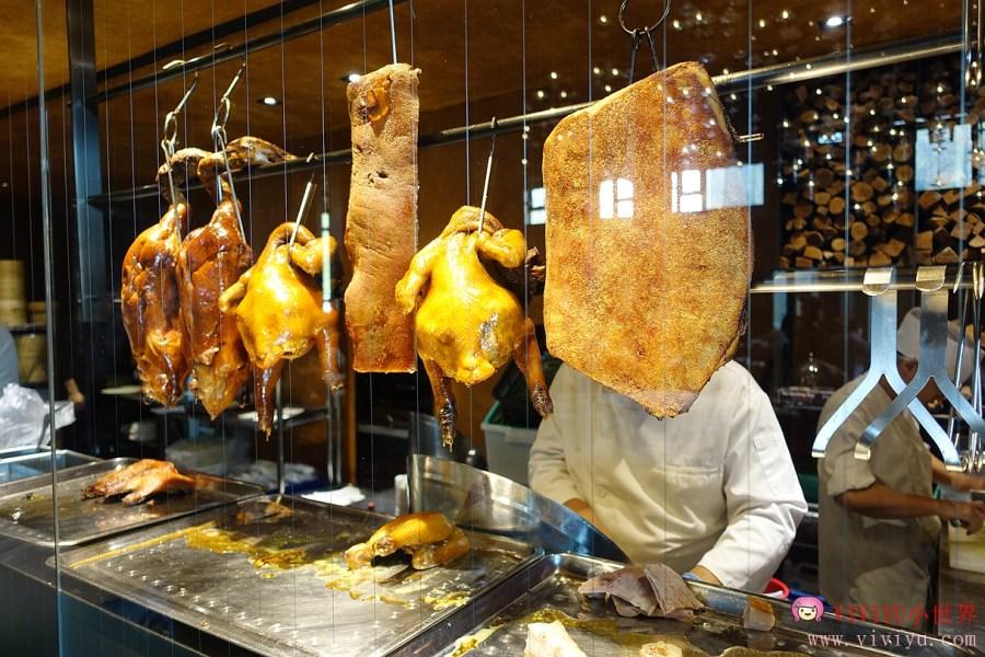 与玥樓,与玥樓頂級粵菜餐廳,台中烤鴨,台中美食,窯烤片皮鴨 @VIVIYU小世界