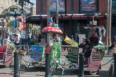 themed pedicabs