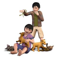 Les Sims 3 Animaux et cie render