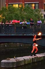 Fire dancer (Photo by John A. Simonetti)
