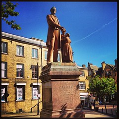 Richard Oastler statue, Bradford