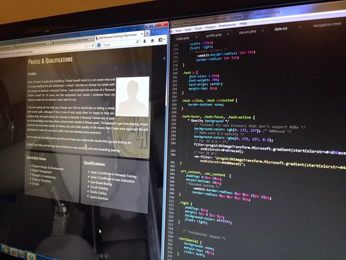Today is all about...coding galore