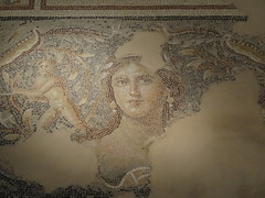 Zipport - Mona Lisa of Galilee mosaic