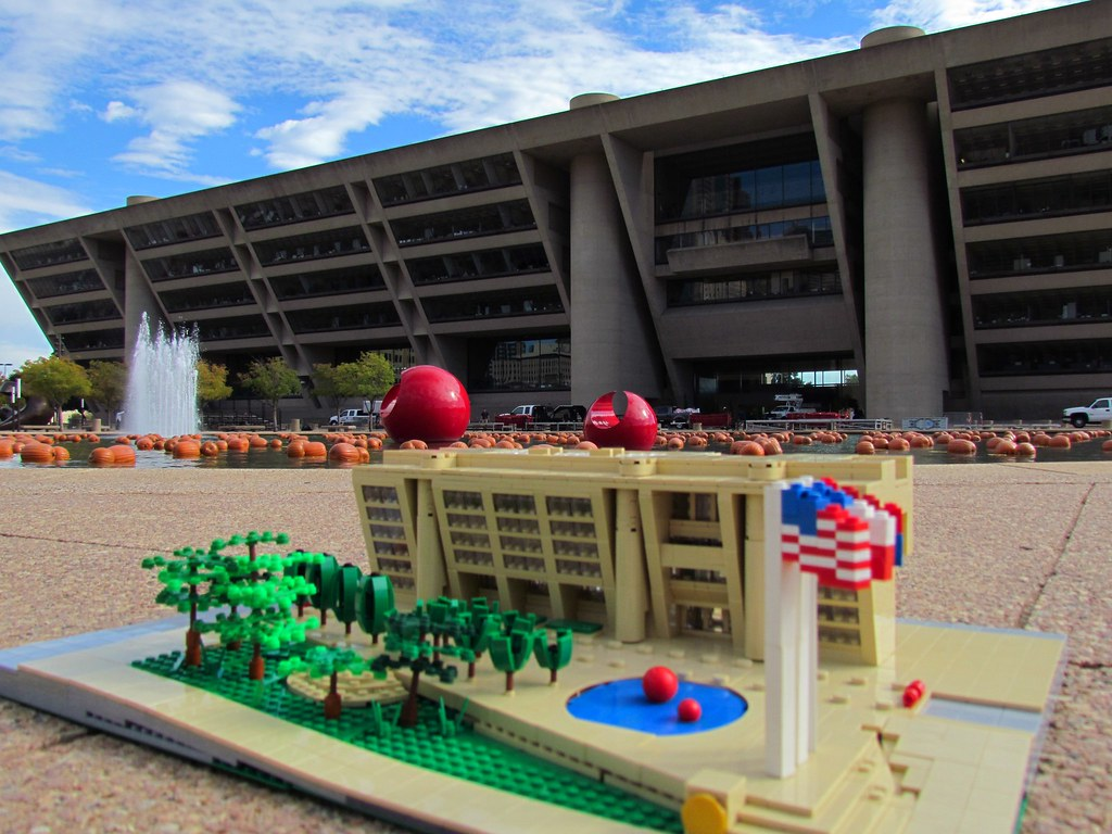 The World s most recently posted photos of dallasarchitecture and     Dallas City Hall  Lia Chan DFW  Tags  impei lego dallas dallascityhall  dallasarchitecture legoarchitecture