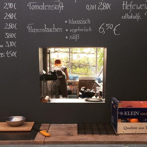 #Flammkuchen  Pflanzenhandel #Huben in #Ladenburg