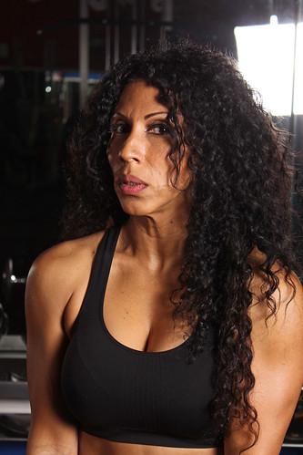 Latina In Gym