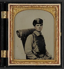 [Unidentified soldier in Confederate uniform o...
