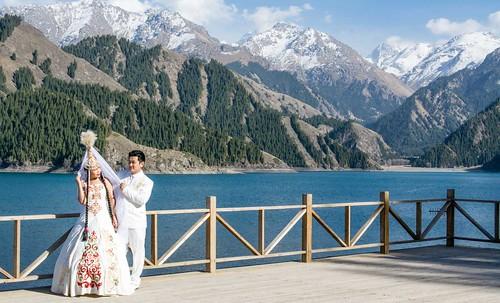 Tianshan Heavenly Lake