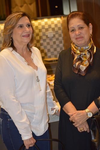 Cristina Hemétrio e Lelelna Almeida