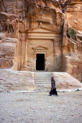"""Pétra - السيقﺁلبرئد Siiq al-Bariid, """"Little Petra"""""""