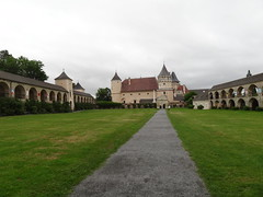 Schloss Rosenburg huge courtyard