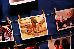 Photos from the Lend a Hand exhibit