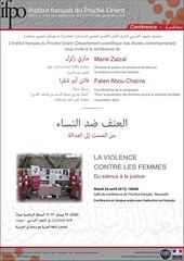 Conférence : La violence contre les femmes (Be...