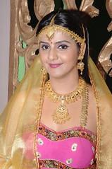 South Actress CHARULATHA Hot Photos Set-2- at Sri Ramanujar film shooting (1)