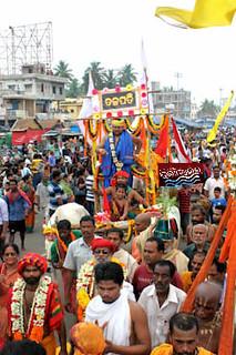 Daru Sagadi Of Lord JAgananth Started journey towards Koili baikuntah