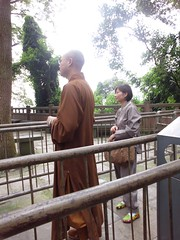 A real monk!