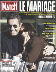 COUVERTURE DU PARIS MATCH N° 3064 DU 6 FEVRIER...