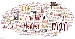 Words in Red Gospel of Matthew (1)
