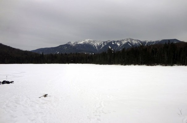 Lonesome Lake in Winter