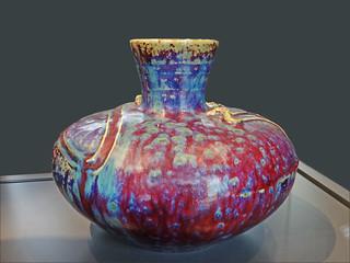 Vase art nouveau (Bourg-la-Reine)