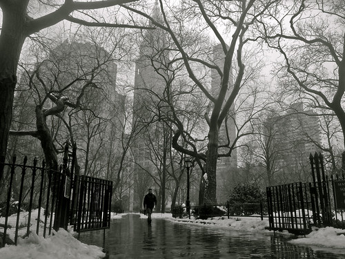Meltdown in Madison Square Park