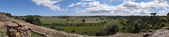 View of the countryside from the Ullastret 5th Century BC Iberian ruins