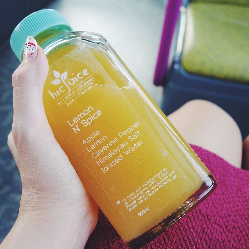hicJuice juice cleanse singapore