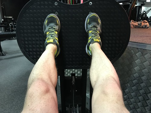 Today is all about...legs day
