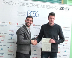 Premio Segnalazione - Corrado Musmeci con Matteo Sbalchiero
