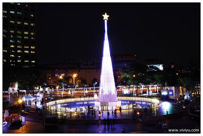 [台北.旅遊]0元景點旅遊特輯~新北市聖誕城.照亮夜空(至104/1/5) @VIVIYU小世界