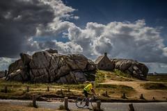 Le cycliste de Menez Ham