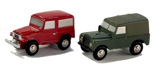 Schuco Piccolo Toyota & Land Rover