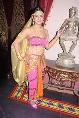 South Actress CHARULATHA Hot Photos Set-2- at Sri Ramanujar film shooting (7)