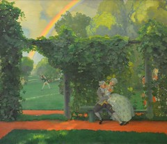The Mocked Kiss, Konstantin Somov, 1908