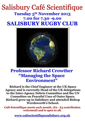 """Poster for Prof Richard Crowther • <a style=""""font-size:0.8em;"""" href=""""http://www.flickr.com/photos/56773095@N06/10543047786/"""" target=""""_blank"""">View on Flickr</a>"""