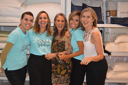 Yáscara, Karina, Andreia Paiva, Camila e Zilma Assef