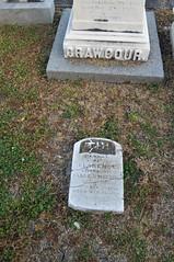 Crawcour ground headstone