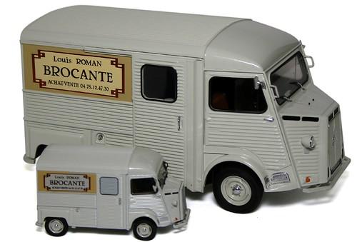 Solido Citroën H Brocante
