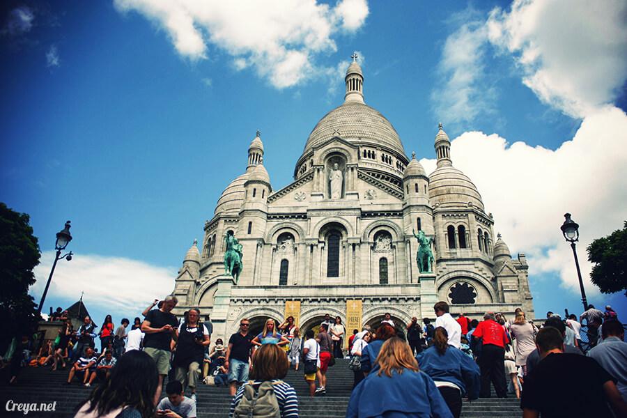 2016.10.02   看我的歐行腿  法國巴黎一日雙聖,在聖心堂與聖母院看見巴黎人的兩樣情 09
