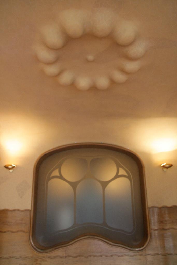 Détail de la casa Batllo (Gaudi)