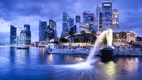 Cidade de Singapura, no país de mesmo nome